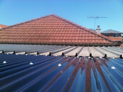 Unproofed Roof