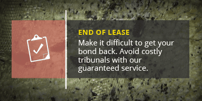 End of Lease banner